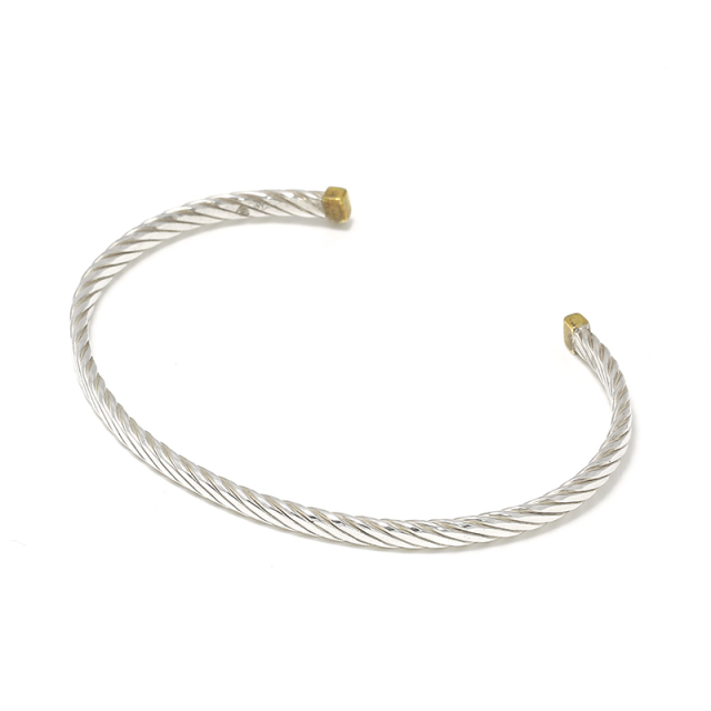 Seven Wires Twist Bangle