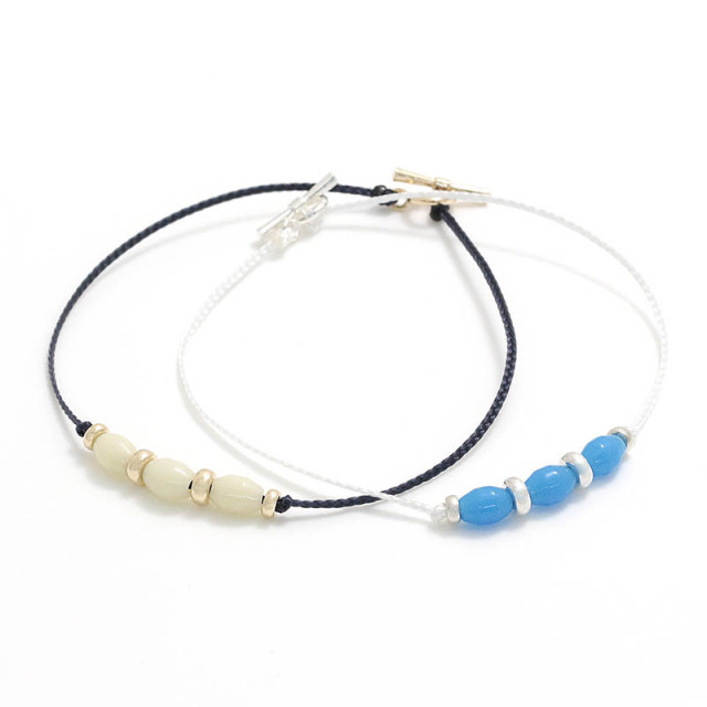 LEON別注 One Mile Jewelry PDS Beads Bracelet