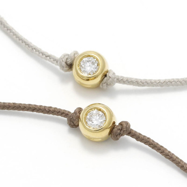 One LG Diamond Bracelet - K18Yellow Gold w/Laboratory Grown Diamond