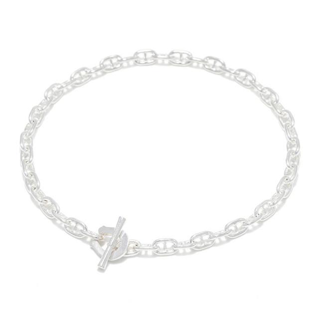 Classic Chain Bracelet - Anchor - Silver