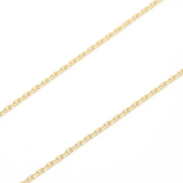 K18Gold 0.42 Square Chain