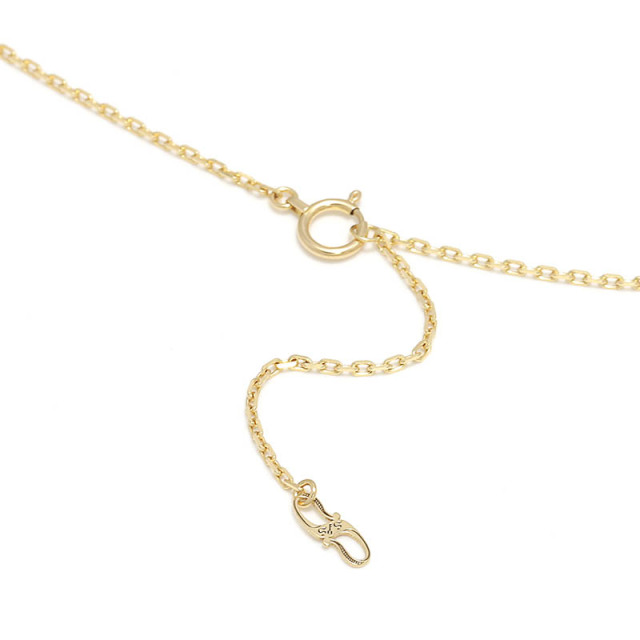 K18Yellow Gold 0.42 Square Chain
