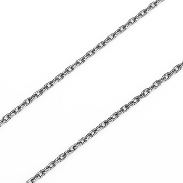 Silver Square Cable Chain 1.6mm