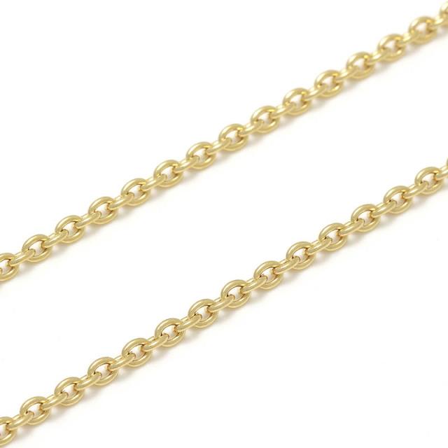 K18Yellow Gold 0.58 Azuki Chain