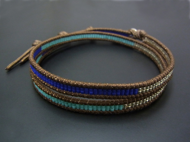 CHAN LUU×SYMPATHY OF SOUL Glass Beads Anklet