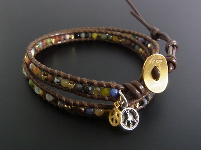CHAN LUU×SYMPATHY OF SOUL Peace Bracelet - Multi Color