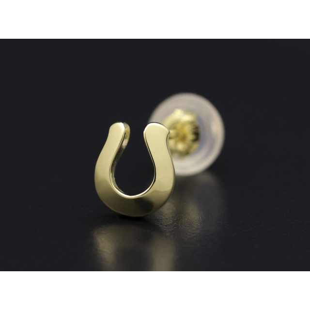 Horseshoe Pierce - K18 Yellow Gold