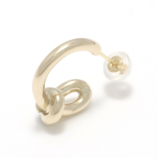 Knot Pierce - K10Yellow Gold