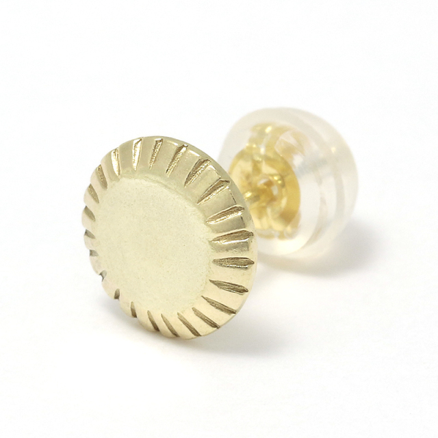 Mirror Pierce - K18Yellow Gold