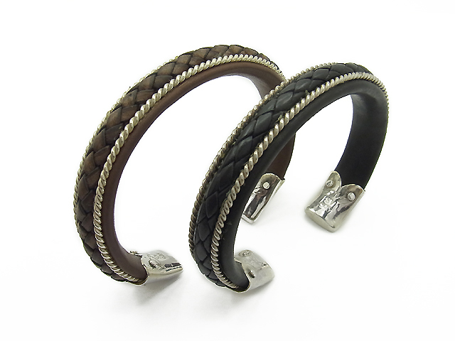 Leather Bangle