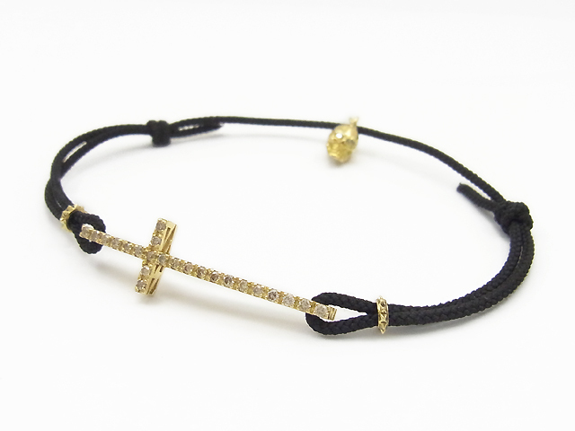 M C Bracelet K18 Yellow Gold
