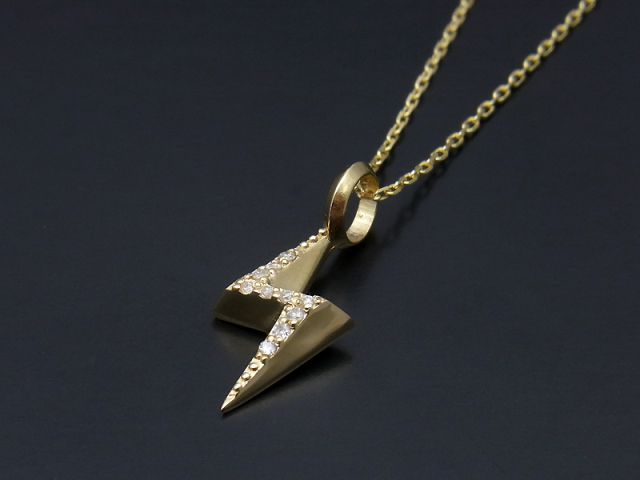 Allumage Necklace K18Yellow Gold w/Diamond