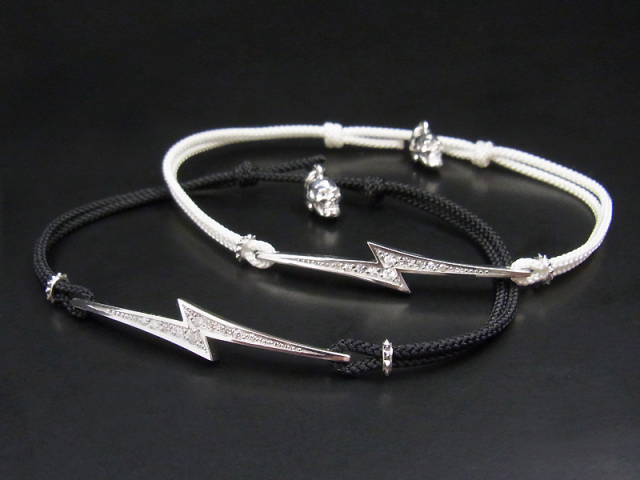 S.O.S fp恵比寿店、Web限定 恵比寿店11周年記念 Love Blitz Code Bracelet - Silver