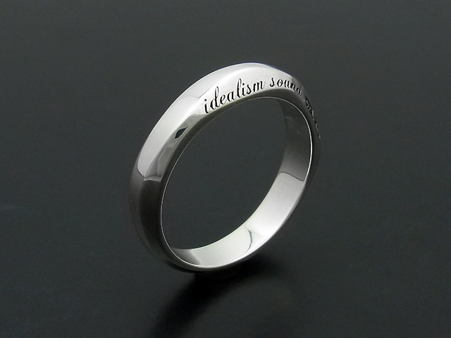 Silver Ring - L