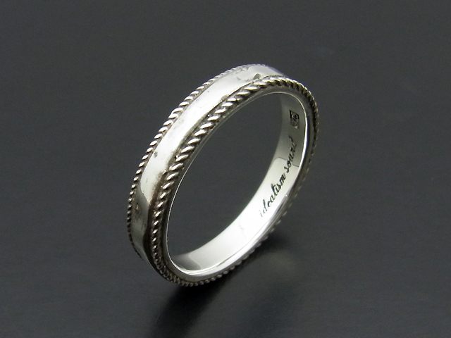 Rope Ring - Silver