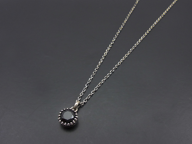 Stone Necklace - Onyx