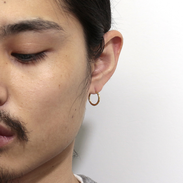 Hoop Pierce - K18Yellow Gold