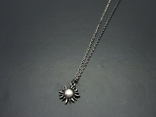 Sun Necklace - Silver