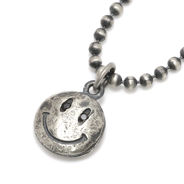 Smile Necklace - All Silver