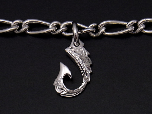 Lono×SYMPATHY OF SOUL Fish Hook Charm Anklet