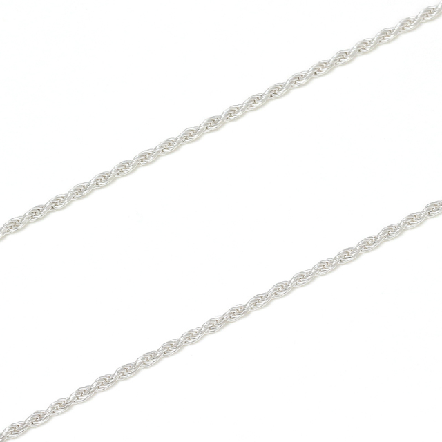 Rope030 Chain - Silver