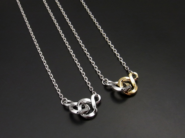 Double S Necklace
