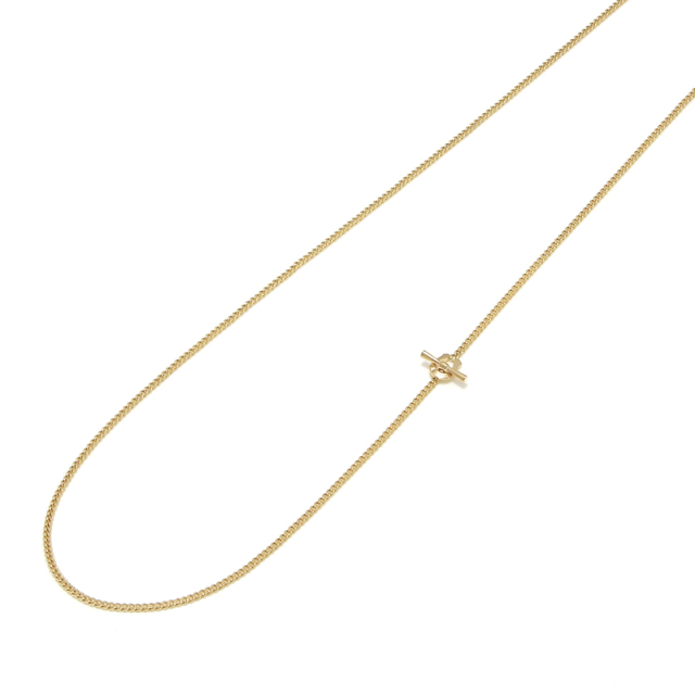 Classic Chain Necklace - Narrow - K18Yellow Gold