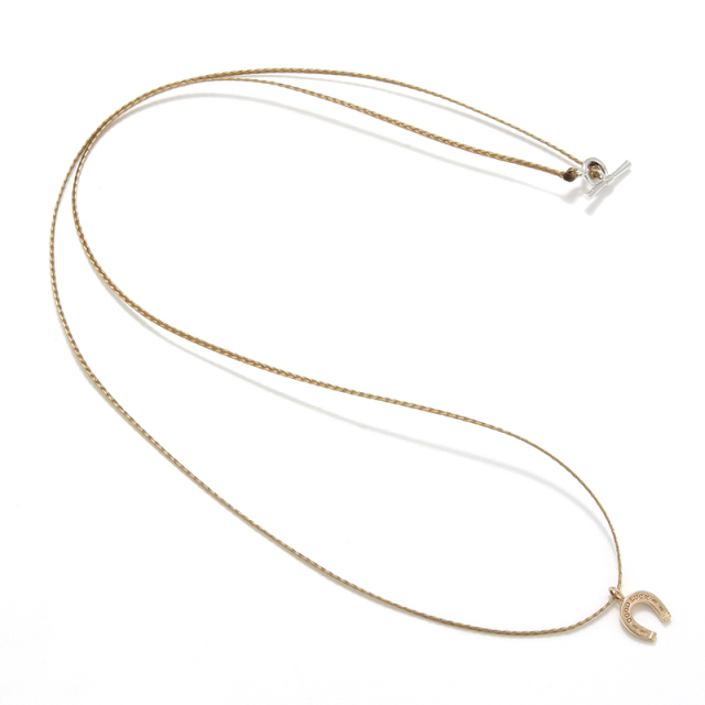 One Mile Jewelry Cord Necklace - K10Yellow Gold