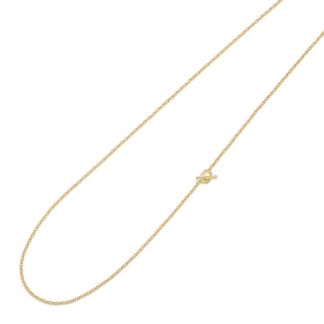 Narrow Classic Chain Necklace - Oval