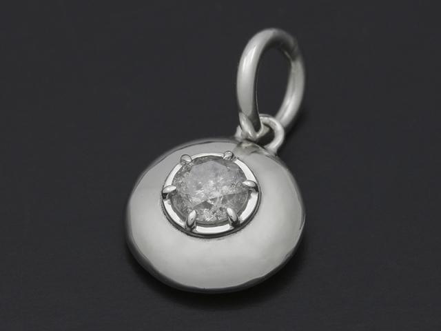 Sympathy of soul ash diamond pendant ash diamond pendant silver ash diamond pendant silver mozeypictures Images