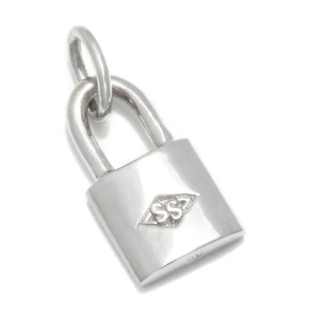 Small Key Charm - Silver