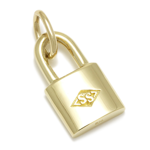 Small Key Charm - K18Yellow Gold