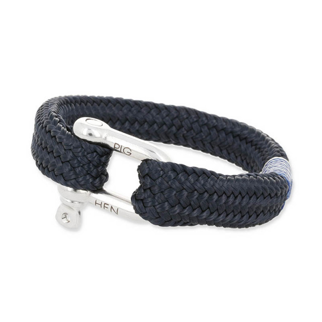 Gorgeous George - Navy   Silver