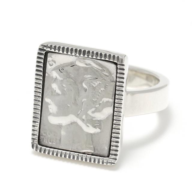 Liberty Head Ring - Silver