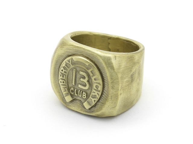 Liberty Lucky 13 Club Ring