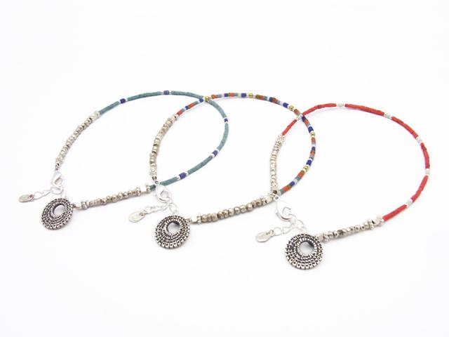 Smbati×SYMPATHY OF SOUL Beads Anklet