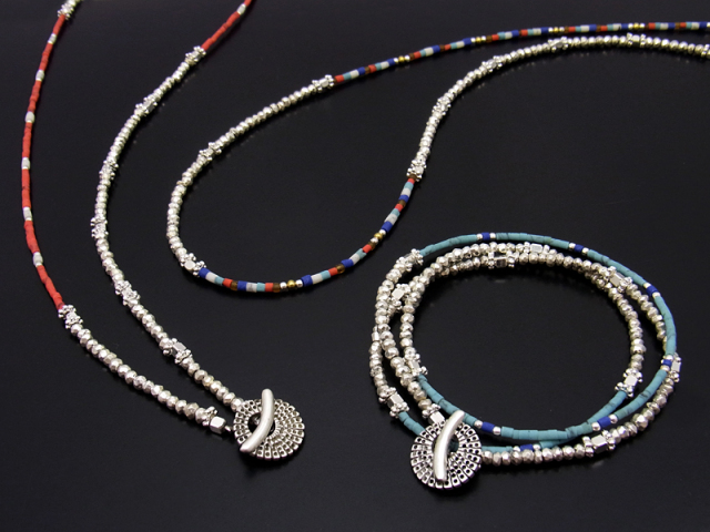 Smbati × SYMPATHY OF SOUL 2way Necklace & Bracelet