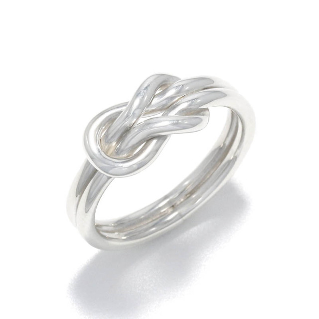 Eternal Knot Ring All Silver
