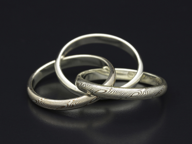 Triple Combination Ring - Silver