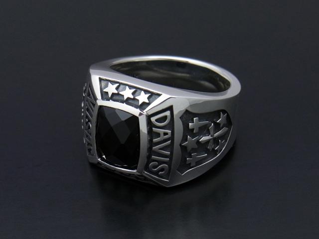 Marshal Ring w/Onyx