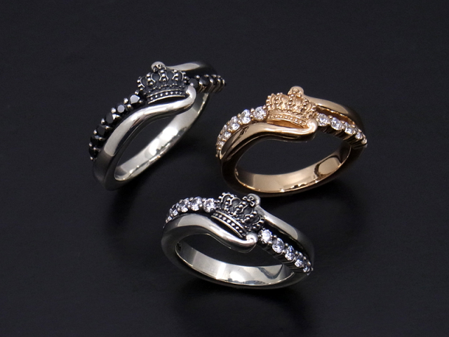 Circular Crown Ring