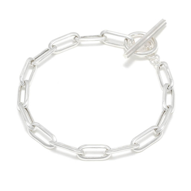 Hollow Chain Bracelet TYPE:1 - Silver