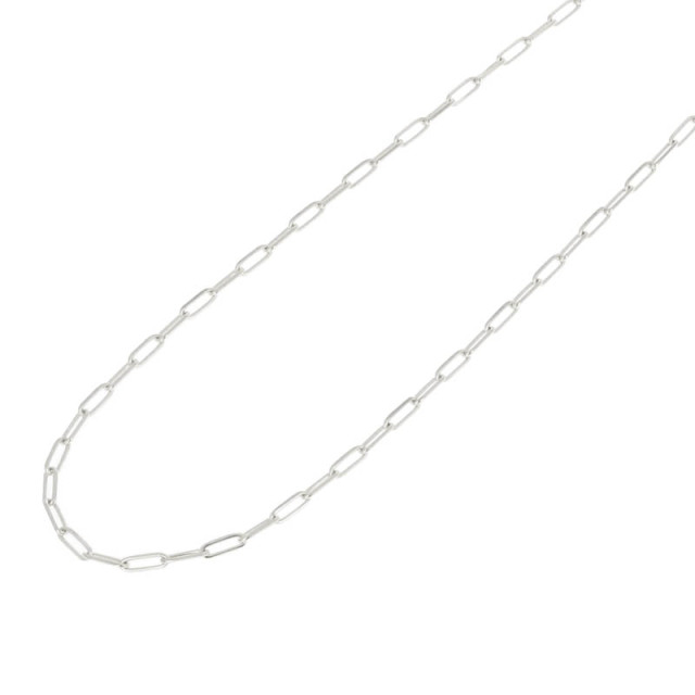 JUST GOOD Chain Necklace - Anchor - Silver
