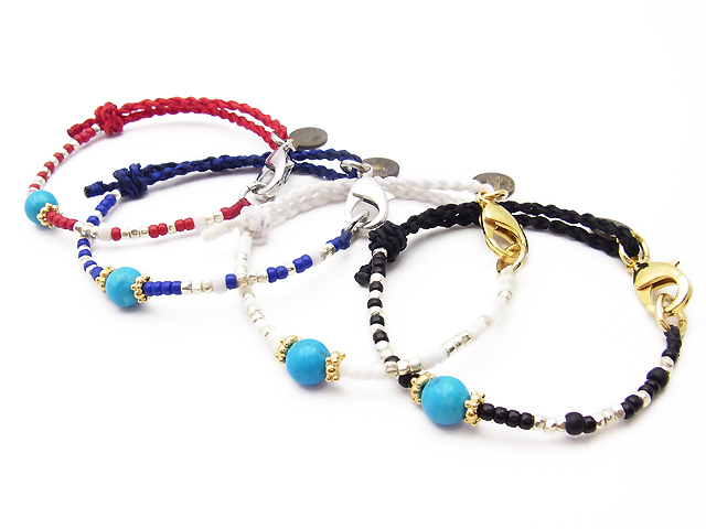 Glass Beads Bracelet & Anklet
