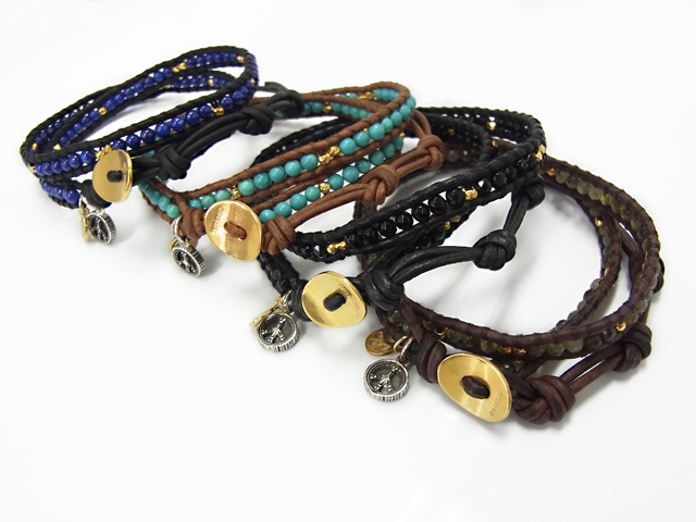 CHAN LUU × SYMPATHY OF SOUL Peace Bracelet