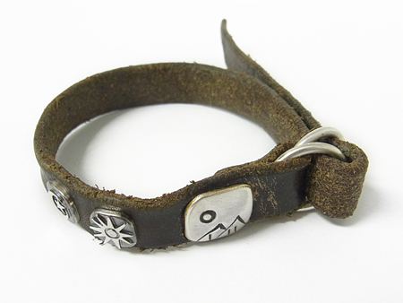 JACK WALKER × SYMPATHY OF SOUL Element Leather Bracelet