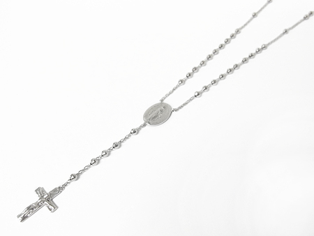 Divine Rosary Short - Silver