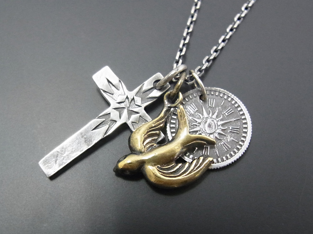 Multi Charm Necklace - Swallow