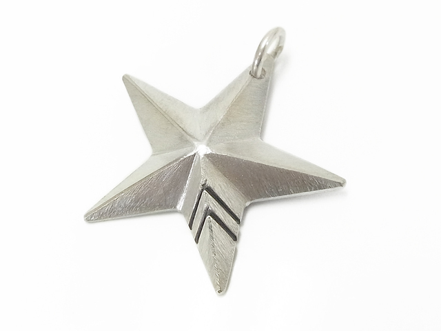 Rustic Star Pendant - Large