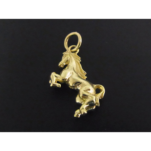 Horse Charm - K18Yellow Gold